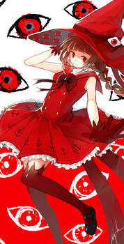 Chaotic Wadanohara by h-yde