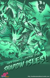 Valoran War Posters: Shadow Isles by a-bad-idea