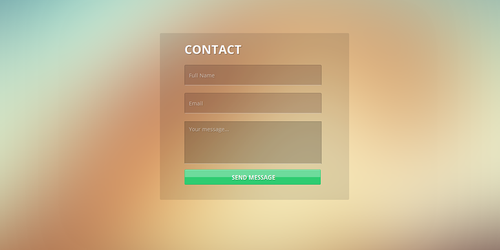 Contact UI by Firosnv