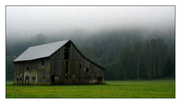 Old Barn Colour Version by grubbyboy