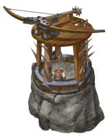 crossbow tower by ZWYER