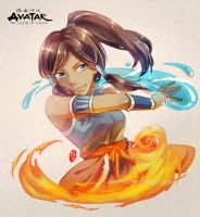 Legend of Korra by kelly1412