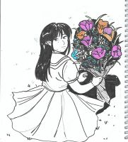 Day 6 - Flower Girl by boniae