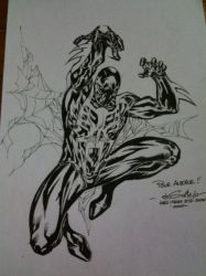 Spider-Man 2099 - Paris Manga by SpiderGuile