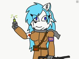 Jana as a IDF soldier by Reaper2545