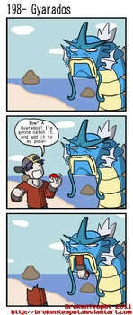 Gyarados by BrokenTeapot