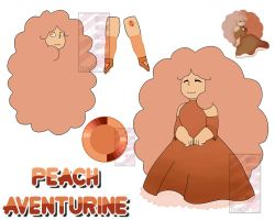Peach Aventurine by BotCp
