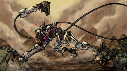 Barbatos by tosthage