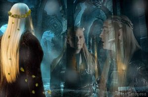 Thranduil father and son by OlgaVPirogova