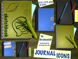 Journal Icons by ShrunkenJedi