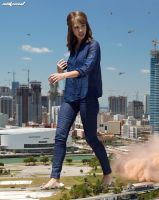 Jessica on the Move by Nikemd
