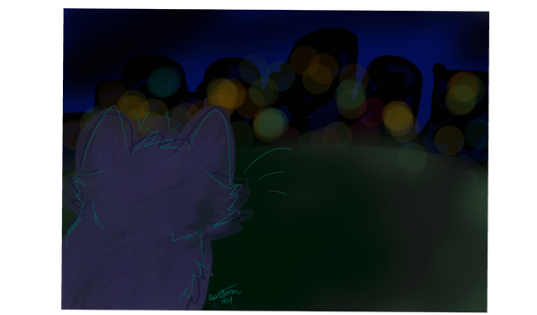 The City at Night by Rainstorm1414