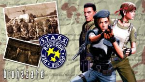 Biohazard PSP Wallpaper by MrDraftsman