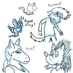 Furry Characters by Ardhamon