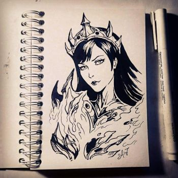 Instaart - DVa the Destroyer by Candra
