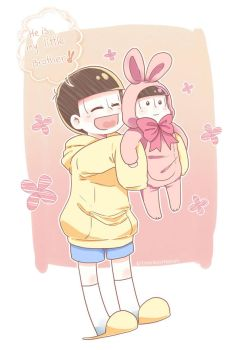 He is my little brother!! by TimelessHeaven