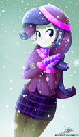 .:Winter day:. (Commission) by The-Butcher-X