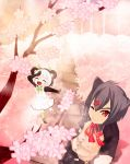 Commission 02 [Deviantart]-Cherry blossoms heaven by yueokinawa