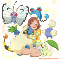 CM: Shelly131 ~ Miriam and her Pokemon