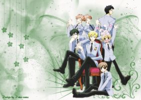 Ouran high school host club by outsidecastle