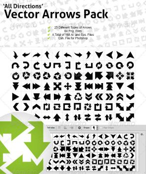 All Directions Vector Arrows Pack by Crealextion
