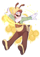 Super Mario: bumble boy by Cherryberrybonbon