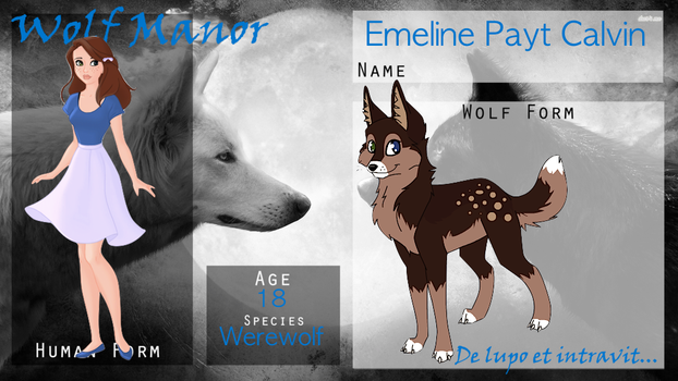 || WOGM Application || Emeline Payt Calvin || by Marclenia