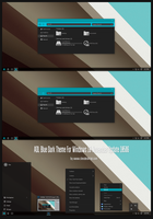 ADL Blue Dark Theme Win10 Build 10586 aka 1511 by Cleodesktop