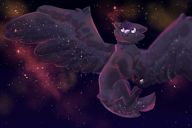 Comm | One With the Universe by SophieSuncatcher