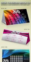 Desk Calendar Mock-up by idesignstudio
