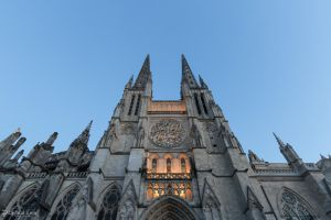 Bordeaux Cathedral - North face spires by CyclicalCore