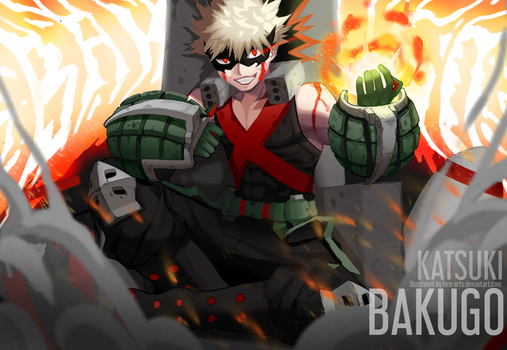 The Bombing King by Hiro-Arts