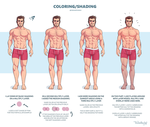 Coloring Guide by TheDamn-ThinGuy