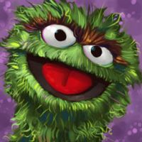 Oscar the Grouch by natebaertsch