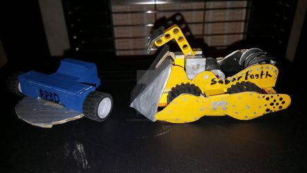 Robot Wars PP3D and Sabretooth Models by LouTheFatCat