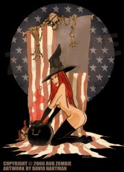 AMERICAN WITCH 2 by Hartman by sideshowmonkey