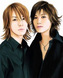 Jin and Kame by egosun