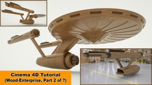 Wood Enterprise - Part 2 (Cinema 4D Tutorial) by NIKOMEDIA