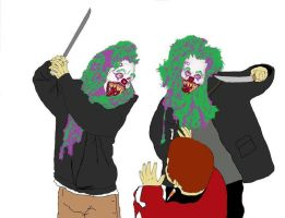 Killer Clowns by TheLonelyFeel