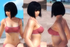 [HAIR] Nyotengu Mid Short Hair by funnybunny666