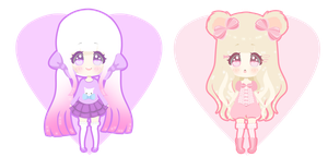 Adoptables 2nd Batch CLOSED by Miielle