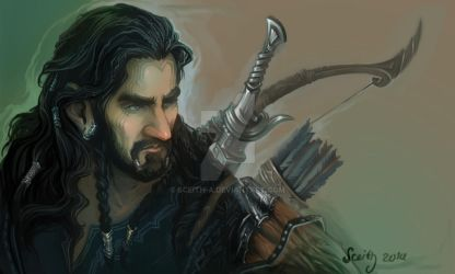 Thorin (sketch) by Sceith-A