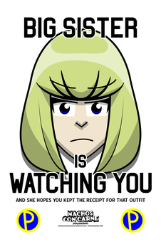 Big Sister is Watching You by Kitschensyngk