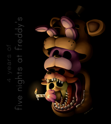 4 years of FNaF by Thyladactyl