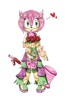 Amy Rose. by LordOfPillowCats