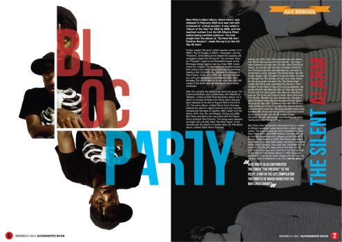 Muziek magazine page 6 - 7 by scrfaceunited