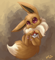 eevee by Kitzophrenic