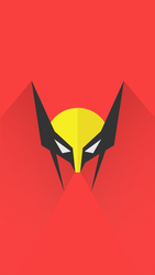 Wolverine Logo Wallpapers iPhone 6S PLus by lirking20
