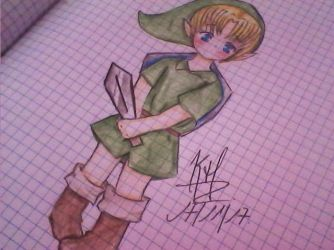 Young Link by Im-Keyla-the-master