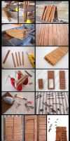 Domus project 053-055-056-057: Main door by Wernerio